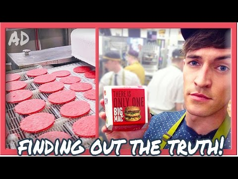 ARE MCDONALD'S BURGERS REALLY 100% BEEF?!