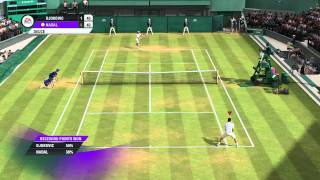 Grand Slam Tennis 2 Demo Gameplay