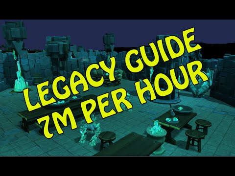 [Legacy] Runescape Ultimate Money Making Guide | 7m per Hour | 2014