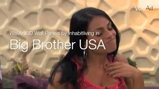 Panouri decorative 3D WallArt in BigBrother USA