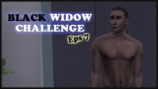 GOODBYE TYSON - Black widow challenge #7 | The Sims 4 Indonesia