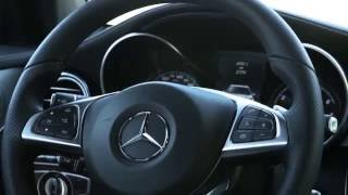 Mercedes-Benz GLC 300 4MATIC Coupe - Interior Design in Brilliant Blue Trailer   AutoMotoTV