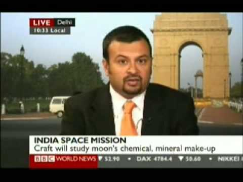 India launches 1st unmanned moon mission - Chandrayaan 1