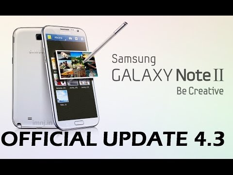 Samsung Galaxy Note 2 4.3 Official update - Review