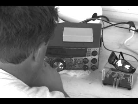Field Day 2002:  Making HF Contacts
