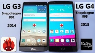 LG G3 vs LG G4 Antutu Benchmark test