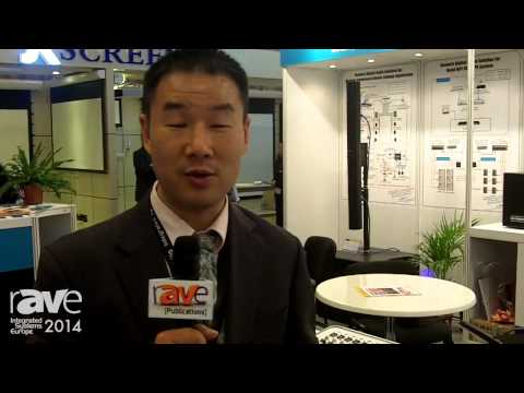 ISE 2014: C-MARK Discusses 24-Channel Digital Mixing Console