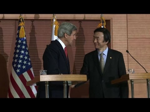 Kerry hits back as North Korea threatens Japan