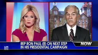 ROn Paul brilliantly shuts down dumb question