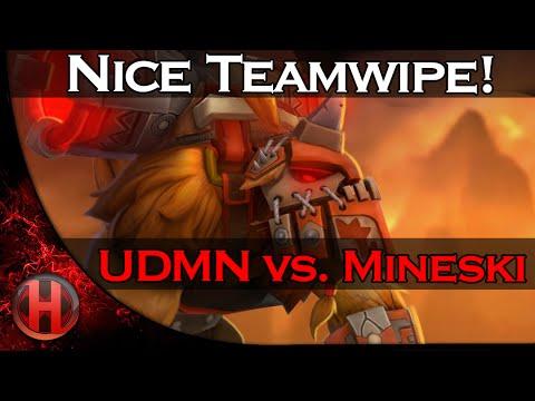 Dota 2 - Nice Teamwipe! by Mineski vs. UDMN @ ESL ONE Frankfurt 2015 Qualifiers