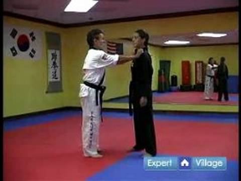 Hapkido Techniques : Hapkido Chest Grab Image 1