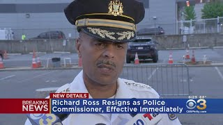Police Commissioner Richard Ross Resigns, Effective Immediately