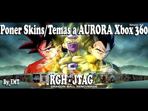 Descargar e Instalar Skins/Temas Para AURORA Xbox 360 RGH 2017