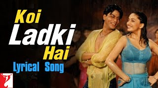 Lyrical: Koi Ladki Hai Video Song from Dil To Pagal Hai