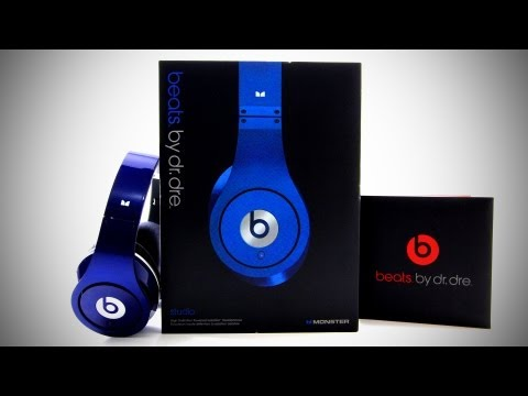 Beats By Dr Dre Beats Studio Unboxing - Blue (Colors)
