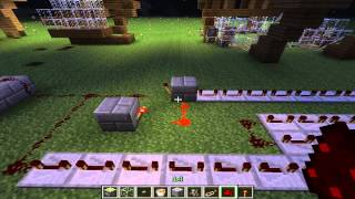 Minecraft - Automated Cow Breeding Farm Tutorial - Part 3 - The Cooker