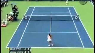 Jankovic Henin 2006 US Open