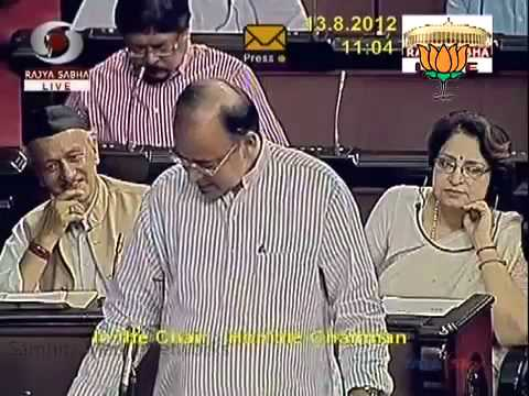Speech on elected Hamid Ansari as Vice President: Sh. Arun Jaitley: 13.08.2012: LQ