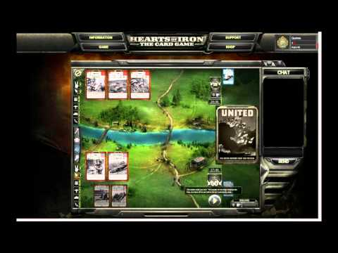Hearts of Iron: The Card Game Tutorial Trailer #2