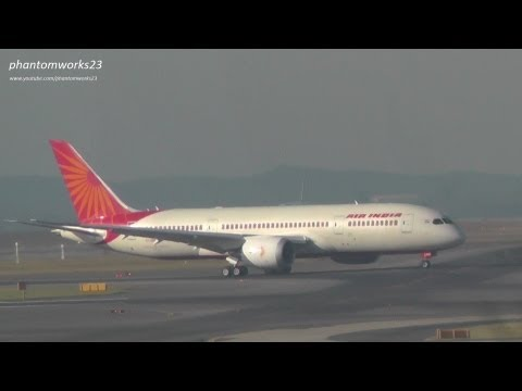Air India 787-8 Dreamliner Inaugural Landing at Sydney Airport