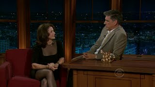 Late Late Show with Craig Ferguson 10/6/2010 Debra Winger, Adhir Kalyan, Julie Gribble