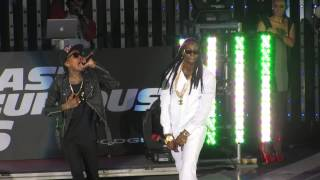 "2 Chainz Video - Wiz Khalifa Ft. 2 Chainz ""We Own It"" Live at Universal CityWalk Hollywood"