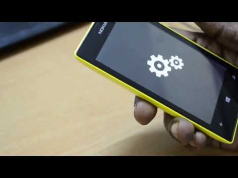 How to reset Nokia Lumia 520 to Factory Settings
