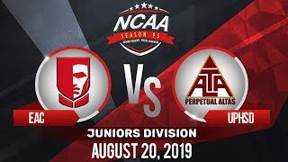 EAC vs. UPHSD | NCAA 95 Jrs Basketball | August 20, 2019