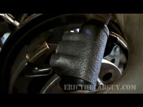 How To Replace a Wheel Cylinder -EricTheCarGuy