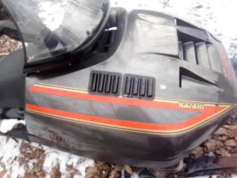 1989 SKI DOO SAFARI ESCAPADE - 4 SALE ON EBAY 1/2009