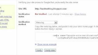 How To Submit Blog Sitemap to Google with Google Webmaster Tools