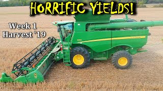 Not The Yields We Were Hoping! | Harvest '19 – Vlog 19