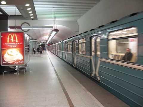Metro in Moscow / Метрополитен в Москве