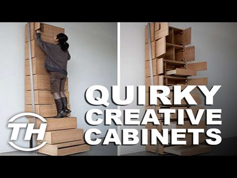 Quirky Creative Cabinets - Jamie Munro Shares Some Creative Space-Saving Solutions
