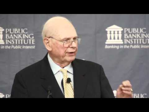 Hon. Paul Hellyer - Public Banking In America