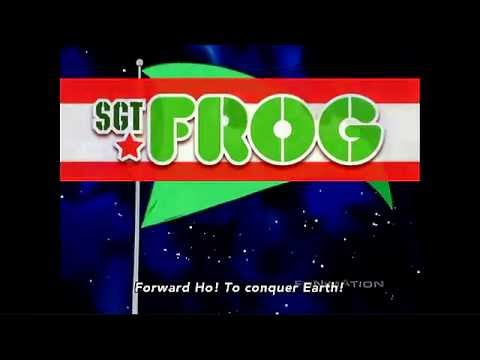 Sgt. Frog [opening Theme] video
