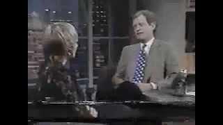 1993 NBC - Ellen Barkin Talks About Her Crush on Dave )