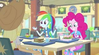 "Equestria Girls - Rainbow Rocks Exclusive Short - ""Pinkie on the One"" [HD]"