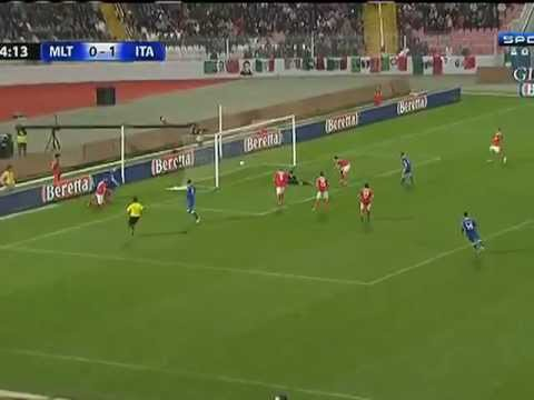 Double Goals of Balotelli, Malta 0-2 Italy [2014 FIFA Qualifiers World Cup Brazil]
