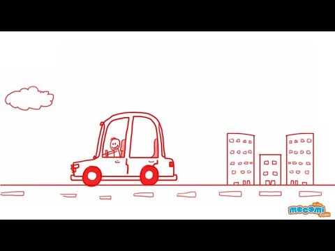 how to draw a car for kids 8
