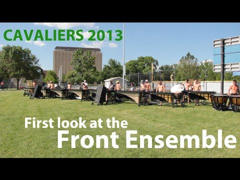 Cavaliers 2013: First Look at the Front Ensemble