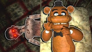 FREDDY ESCAPES FROM HAUNTED ASYLUM! - Garry's Mod Multiplayer Gameplay - FNAF Gmod Survival