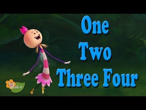 ONE TWO THREE FOUR NURSERY RHYMES ANIMATION BIG BEES JUNIOR...