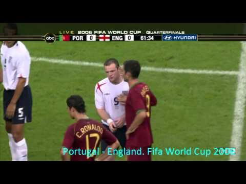 Rooney gets red card against Portugal