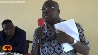 Kofi YAMGNANE: Nous, au Nord on eu tout les résultats, les vrais. Ceux du Sud n