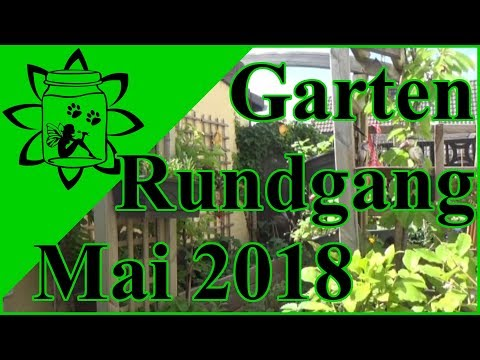 Gartenrundgang Mai 2018 | Rundgang durch meinen kleinen Selbstversorger Garten