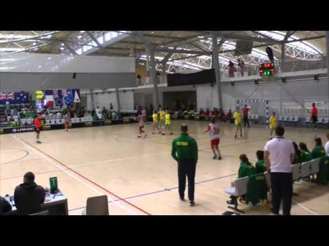 2014 IHF Trophy Oceania - Australia vs New Caledonia (Girls)