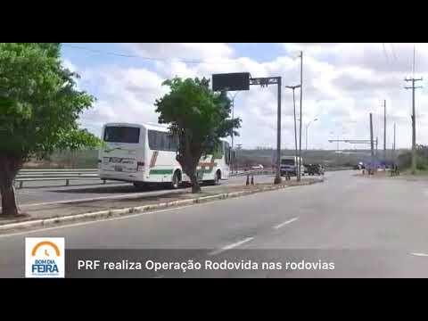PRF realiza Operação Rodovida nas rodovias