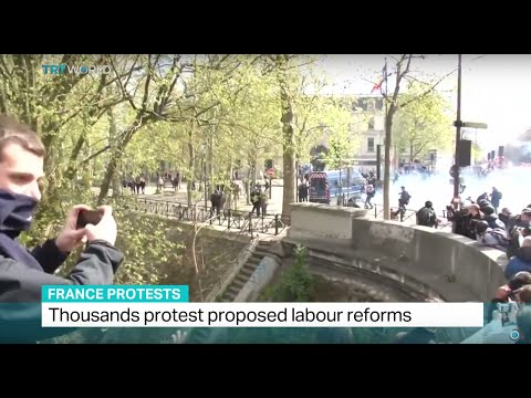Thousands protest proposed labour reforms in France