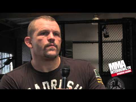 Chuck Liddell talks about & trains with Glover Teixeira, who fights at UFC 153 against Maldonado Image 1